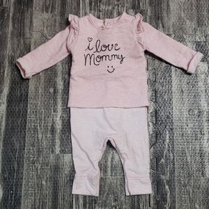 """CARTER'S """"I LOVE MOMMY"""" ONE-PIECE ROMPER"""